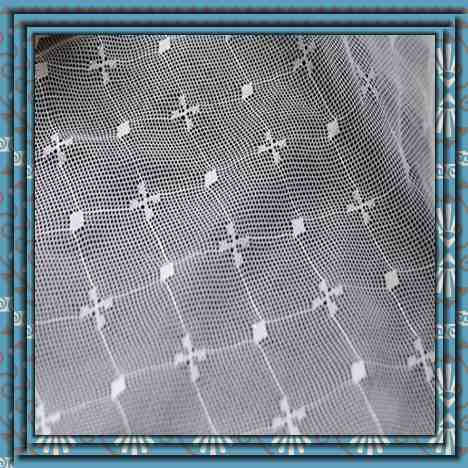 jacquard pattern 100% polyester mosquito net mesh fabric better price